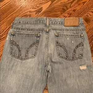 Size 5R Flare Hollister Boot Cut Jeans
